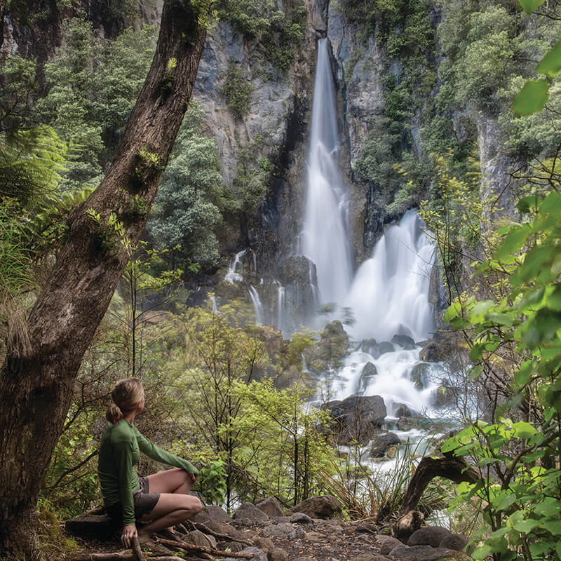 Tarawera Falls Hiking Trail