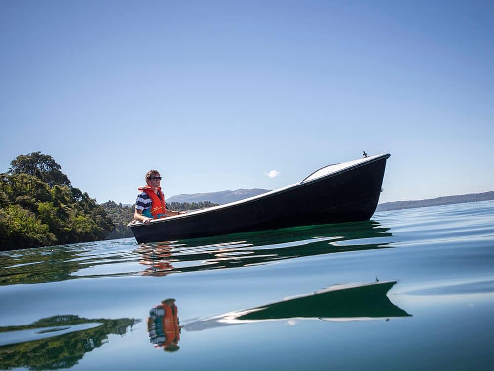 Boating Lake Tarawera
