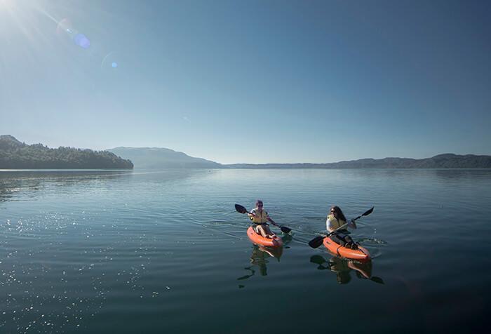 Kayaking Lake Tarawe