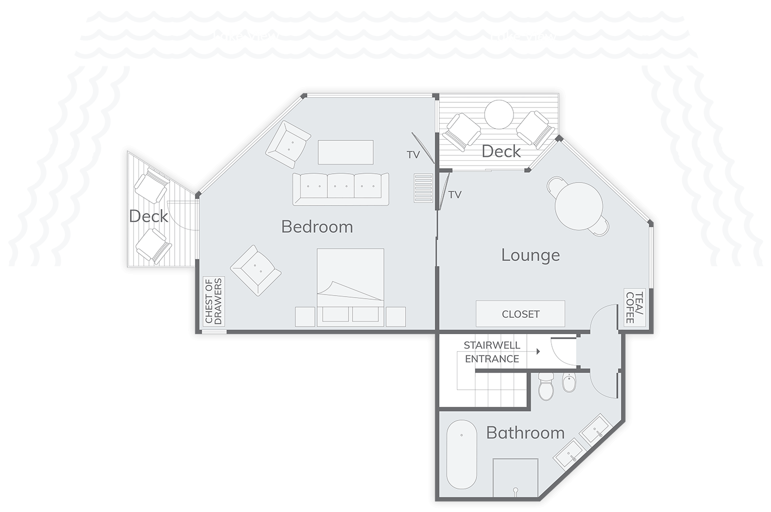 Tarawera Suite Floor Plan