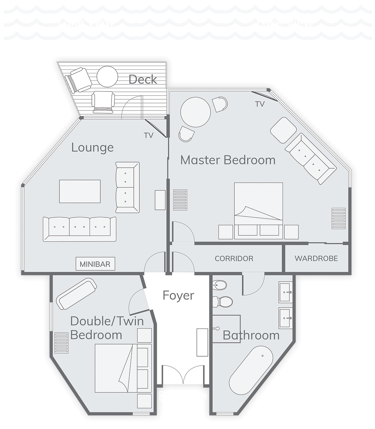 Solitaire Suite Floor Plan