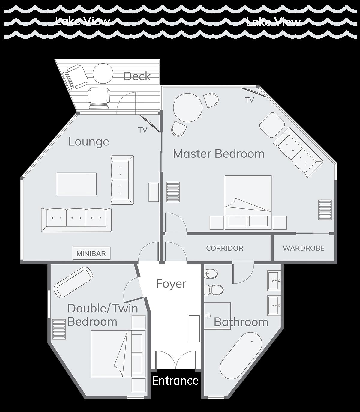 Solitaire Suite Floor Plan
