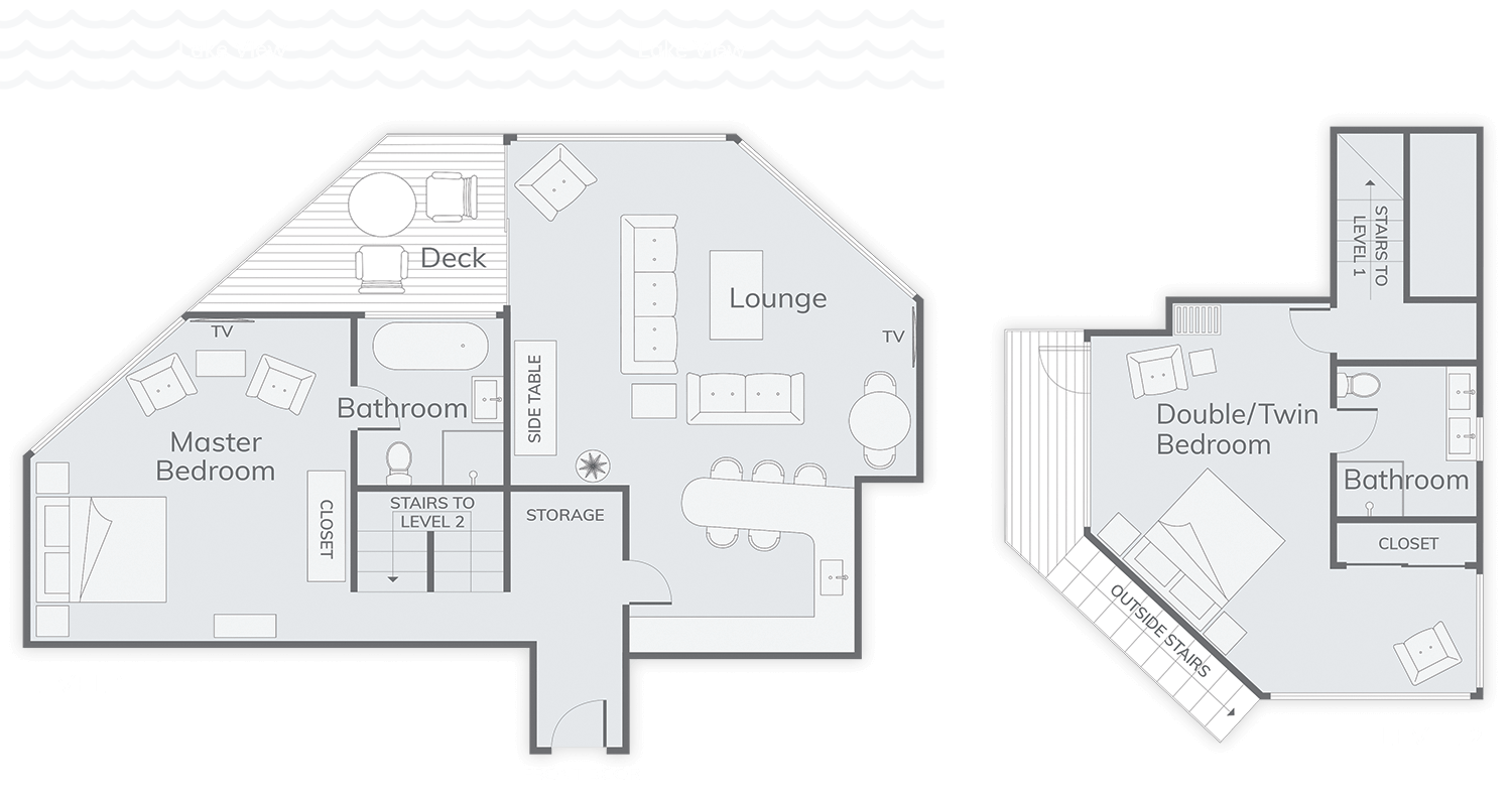 Villa Suite Floor Plan